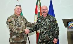 Генерал-майор Михаил Попов се срещна с бригаден генерал Тимъти Дж.Дохърти