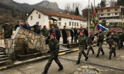101-ви алпийски батальон бе преобраазуван в полк