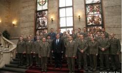 Министър Каракачанов: Военната професия е тежка, но и красива