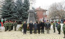 Военнослужещи от Благоевград се включиха в проявите за 100-годишнината от Първата световна война