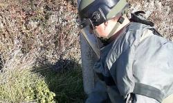 Военнослужещи от Сухопътни войски обезвредиха ръчна граната