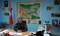 Поздравление на командира на 61-ва механизирана бригада