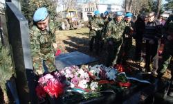 В Русе отдадоха почит на офицерски кандидат Антон Петров