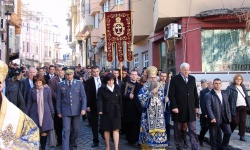 Водосвет на бойните знамена в Кърджали и Пловдив