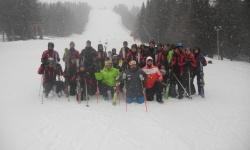 101 алпийски полк - Смолян, и Българската Федерация по ски проведоха съвместен ски курс