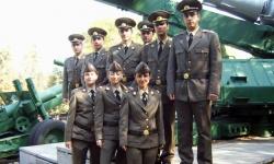 Приемът на курсанти: 48 за полева артилерия и 13 за летци-пилоти