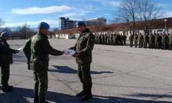 В 68--ма бригада: 15 военнослужещи получиха сержантски пагони