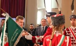 Връчиха знамето на Втори гвардейски ученически отряд