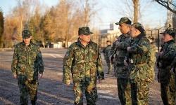 Смяна на командването на 91-ви инженерен батальон за обща поддръжка