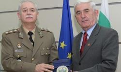 Ръководството на СОСЗР и Командването на СКС обсъдиха съвместната си дейност