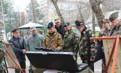 Военни аташета посетиха  31 механизиран батальон - Хасково