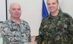 """Националният военен учебен комплекс """"Чаралица"""" има нов началник"""