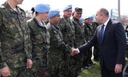 """Президентът ген.  Румен Радев посети 68-а бригада """"Специални сили"""""""