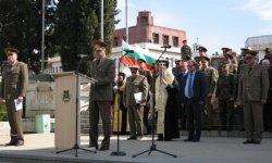 В Асеновград отбелязаха Деня на Ракетните войски и Артилерията на Българската армия