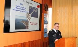 Завърши сборът на командира на Флотилия бойни и спомагателни кораби