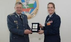 Българо-американска среща в Командването на ВВС