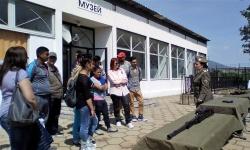 Занятия с ученици от 9 и 10 клас в Центъра за подготовка на специалисти - Сливен