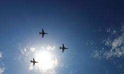 След парада самолетите Су-25 поздравиха жителите на Ямбол