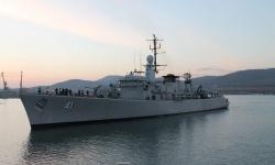 Наши корабни дивизиони провеждат учения на море