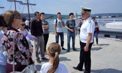 Ученици в бойния ни флот