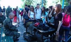 150 ученици влязоха в 68 бригада Специални сили