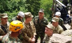Укрaинска делегация бе на посещение в 101 алпийски полк