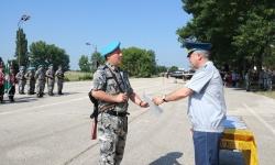 """Връчиха удостоверения на специализантите от курса  """"Младши сержант – първи модул"""""""