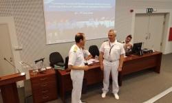 Контраадмирал Митко Петев изнесе лекция на конференция по морски възпиращи операции
