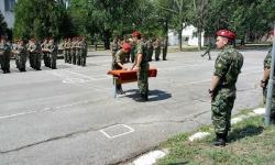 Ритуал по полагане на военна клетва в  42 механизиран батальон – Ямбол