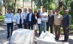 Във Военната академия осветиха статуята на Св. равноапостолна Олга