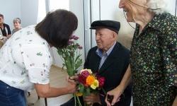 Най-младият фронтовак в Ямболска област стана на 90 години