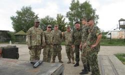 Американски военни инструктори обмениха опит с българските си колеги