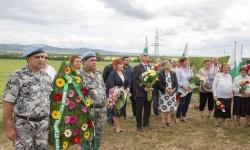 Военнослужещи от ВВС участваха в отбелязването на 141 години от боевете при Стара Загора