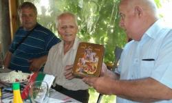 Фронтовак посрещна гости за своя  95-ти рожден ден