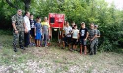 Военнослужещи и ученици – заедно за опазване на горите от пожари