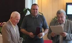 Награди и поздравления за кап. Атанас Илев