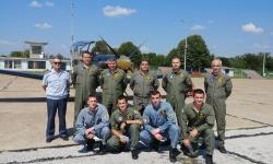 Със семестриален изпит завърши летателният стаж на курсантите – летци 1-ви курс