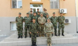 Съвместна българо-американска щабна тренировка