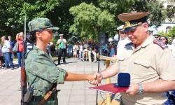 """Във ВВМУ завърши курсът """"Начална военна подготовка"""""""