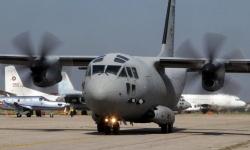 """Самолет """"Спартан"""" на ВВС транспортира медицински екип за донорска ситуация"""