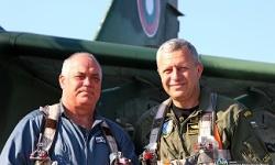 """Вторият ден на стрелбите на """"Шабла"""" започна с полет на командира на ВВС"""