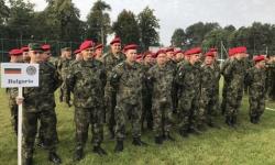 """Военнослужещи от Сухопътните войски участват в многонационалното учение """"Rapid Trident 18"""""""