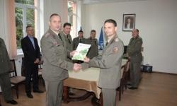 Нов началник на Военен географски център - Троян