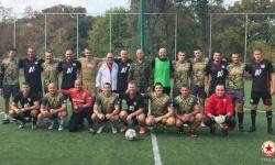 Футболен мач в чест на Празника на военните парашутисти