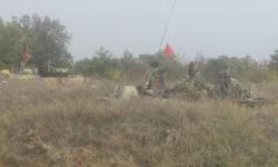 Артилеристите от Сухопътни войски изпълняват огневи задачи