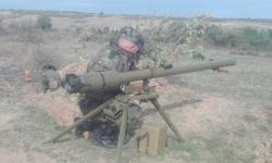 Генерал-майор Михаил Попов провери полевата подготовка на артилеристи и химици