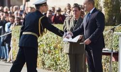 Президентът поздрави випускниците на Военна академия