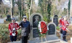 Военни моряци почетоха паметта и делото на капитан I ранг Георги Купов