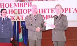 Честваха 111 години от създаването на Военнотранспортните органи