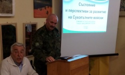 Генерал-майор Михаил Попов: Очертава се напрегната година за Сухопътни войски, което ни радва